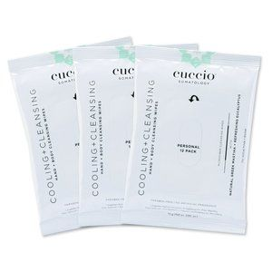 Yogahhh Cooling & Cleansing Actives Wipes-3 packs